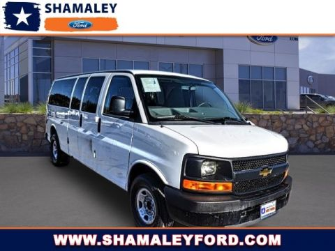 Pre-Owned 2015 Chevrolet Express Passenger LS