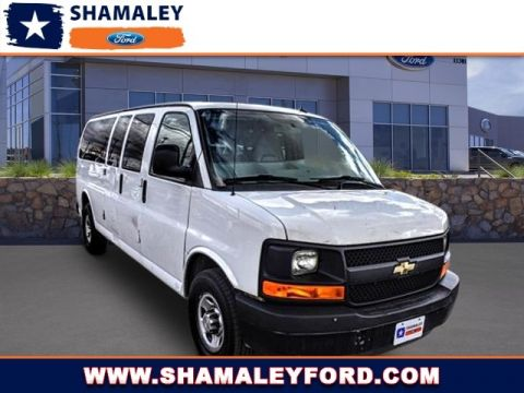 Pre-Owned 2014 Chevrolet Express Passenger LS